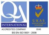 UKAS Certified Process